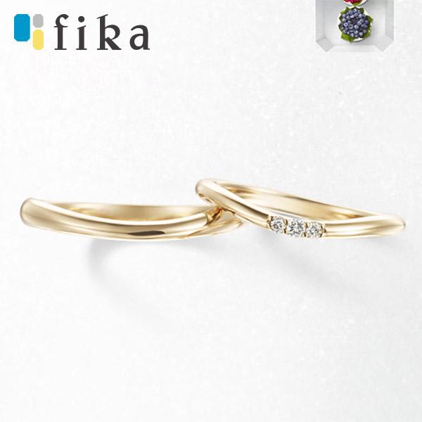北欧風デザイン、フィーカのブライダルリング6