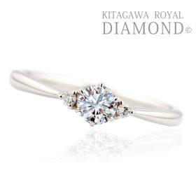 キタガワロイヤルダイヤモンドの婚約指輪(エンゲージリング)ファーストスター