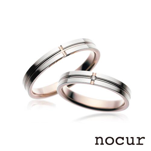ノクルの結婚指輪(マリッジリング)2