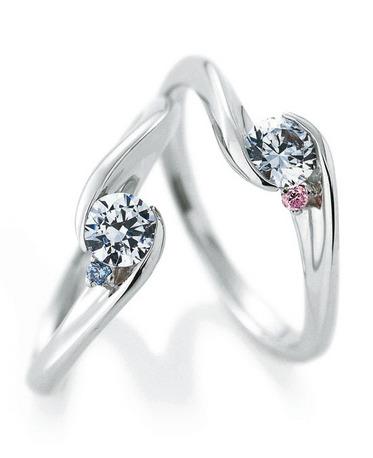 カフェリングの婚約指輪(エンゲージリング)クレマンティーヌ