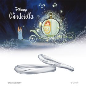 ディズニーシンデレラの結婚指輪(マリッジリング) 魔法のリング