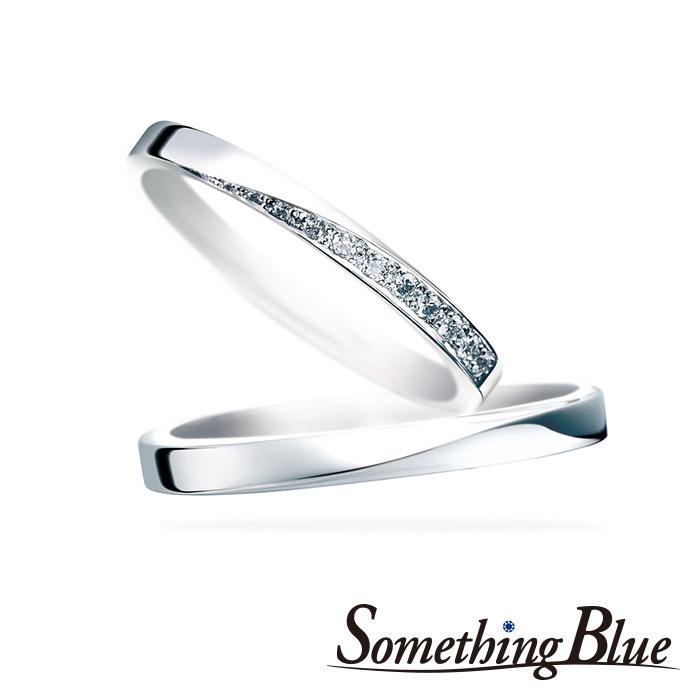サムシングブルーの結婚指輪(マリッジリング)3