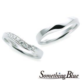 サムシングブルーの結婚指輪(マリッジリング)4