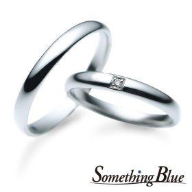 サムシングブルーの結婚指輪(マリッジリング)5