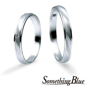 サムシングブルーの結婚指輪(マリッジリング)6