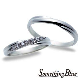サムシングブルーの結婚指輪(マリッジリング)7