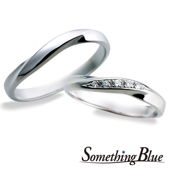 サムシングブルーの結婚指輪(マリッジリング)8