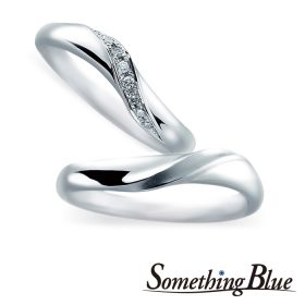 サムシングブルーの結婚指輪(マリッジリング)12