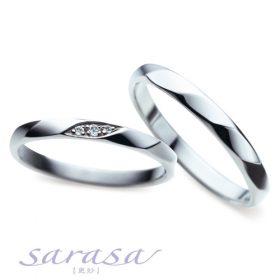 サラサのリーズナブルな結婚指輪(マリッジリング)sr-217