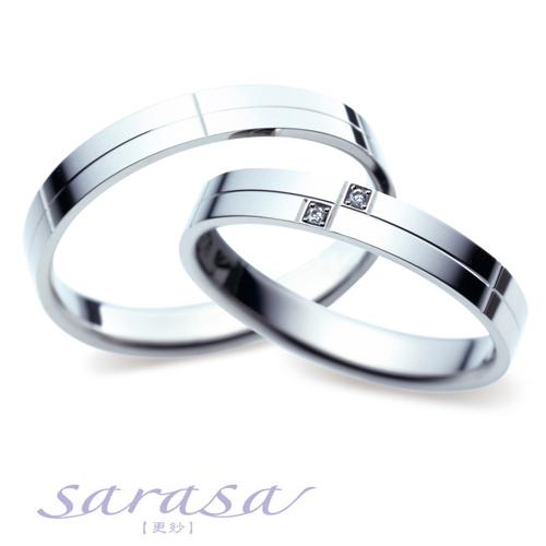 サラサのリーズナブルな結婚指輪(マリッジリング)sr-264