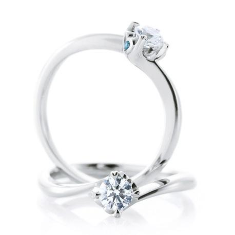 カフェリングの婚約指輪(エンゲージリング)ウェディング
