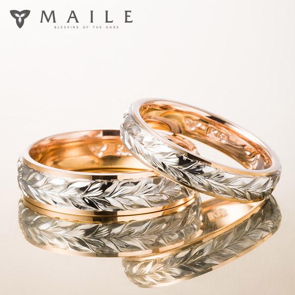 ハワイアンジュエリーの結婚指輪(マリッジリング)8