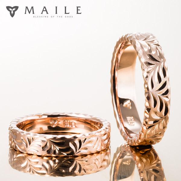 ハワイアンジュエリーの結婚指輪(マリッジリング)4
