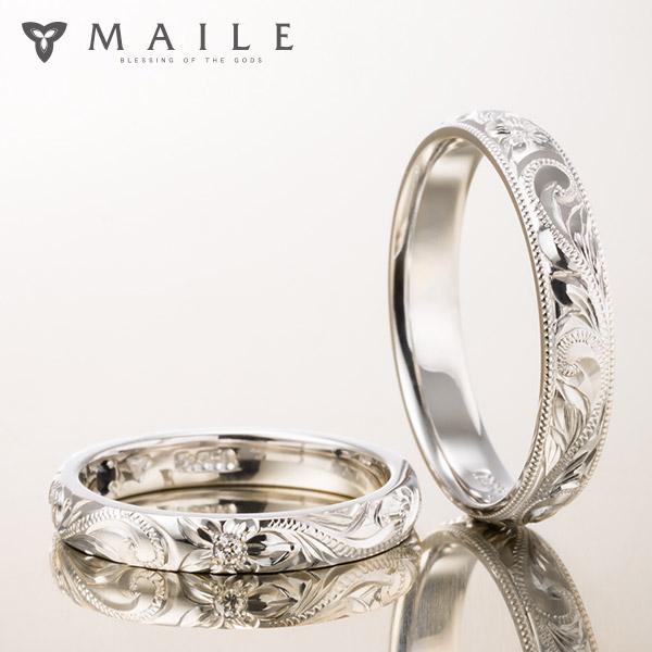 ハワイアンジュエリーの結婚指輪(マリッジリング)3