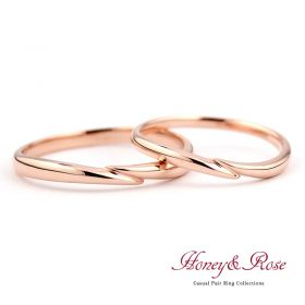ハニー&ローズの結婚指輪/M001-002