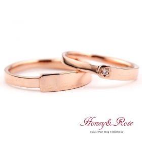 ハニー&ローズの結婚指輪/M005-006