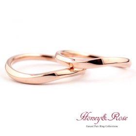 ハニー&ローズの結婚指輪/M009-010