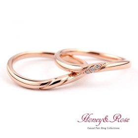ハニー&ローズの結婚指輪/M015-016