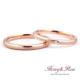 ハニー&ローズの結婚指輪/M019-020