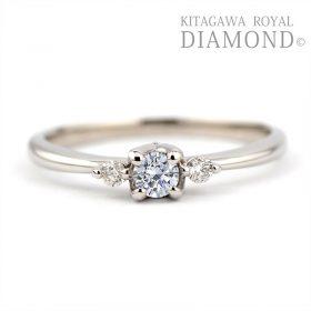 キタガワロイヤルダイヤモンドの婚約指輪/KG-390