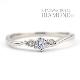 キタガワロイヤルダイヤモンドの婚約指輪/KG-388