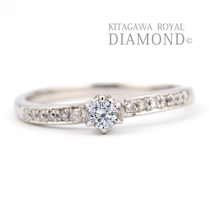 キタガワロイヤルダイヤモンドの婚約指輪/KG-391